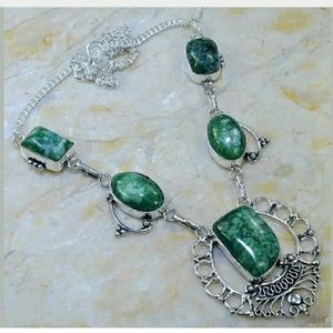 Solar Quartz Handcrafted 925 Necklace